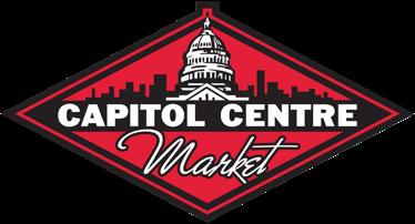 A logo of Capitol Centre Market